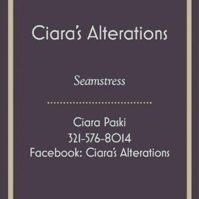 Ciara's Alterations