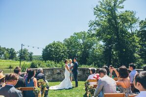 Blue Hill at Stone Barns Outdoor Ceremony