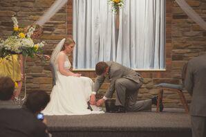 Washing the Brides Feet