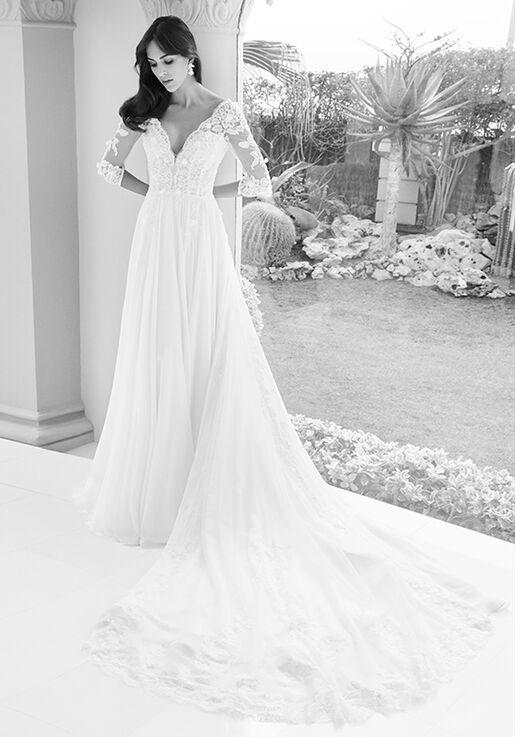 40e8f9f2e29f Alessandra Rinaudo Collection LISBETH AR 2018 A-Line Wedding Dress