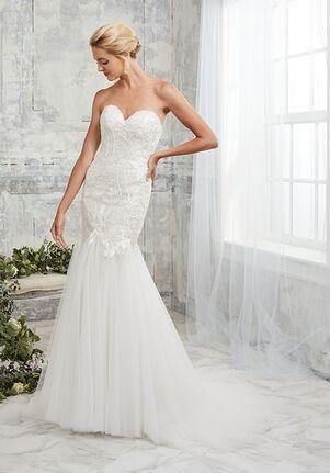 Adrianna Papell Platinum 31132 Mermaid Wedding Dress
