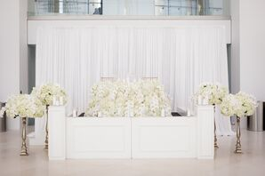Sweetheart Reception Table