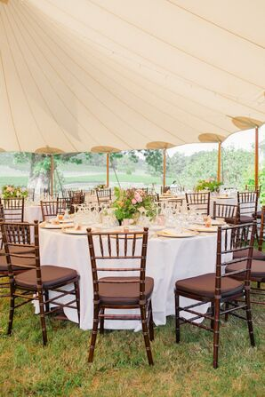Sailcloth Tent Reception at Veritas Winery