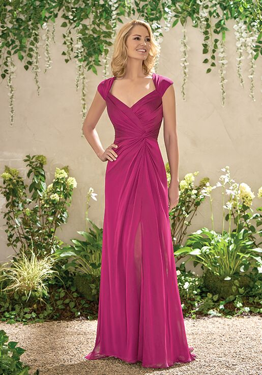 Magenta Mother of the Bride Dresses