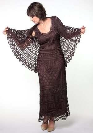 Soulmates D8787 Brown Mother Of The Bride Dress