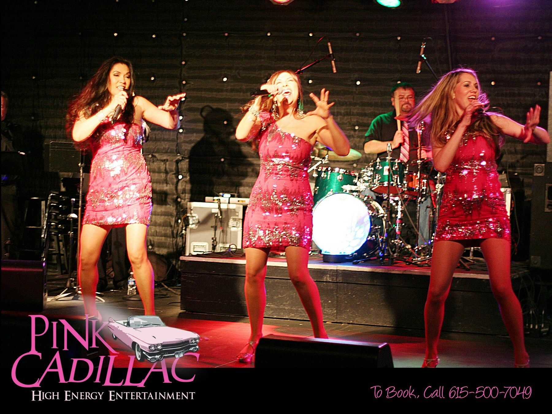 Pink Cadillac (Nashville Wedding & Party Band)