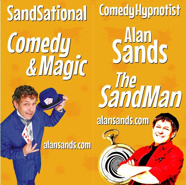 NE Comedy Hypnosis & Magic The SandMan