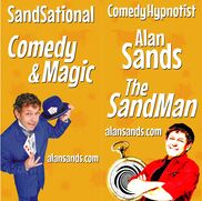 Omaha, NE Hypnotist | NE Comedy Hypnosis & Magic The SandMan