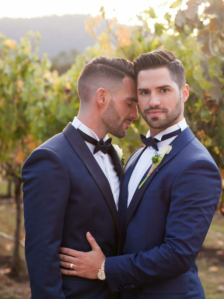 tim gunn's facial hair tips for grooms