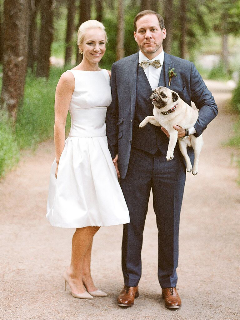 15 Short And Simple Wedding Dresses That Stun