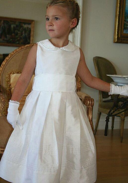 28a861eb518 Isabel Garretón Subtle Flower Girl Dress - The Knot
