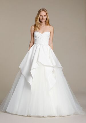 Jim Hjelm 8606 Ball Gown Wedding Dress