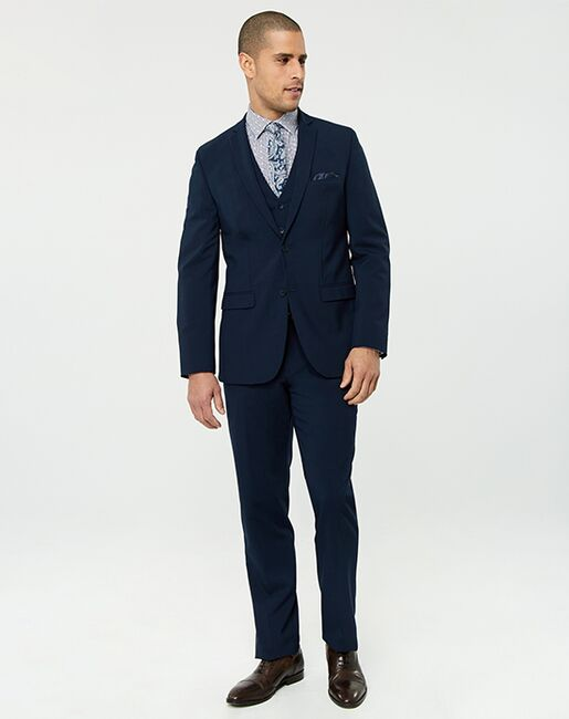 LE CHÂTEAU Wedding Boutique Tuxedos MENSWEAR_362252_030 Blue Tuxedo