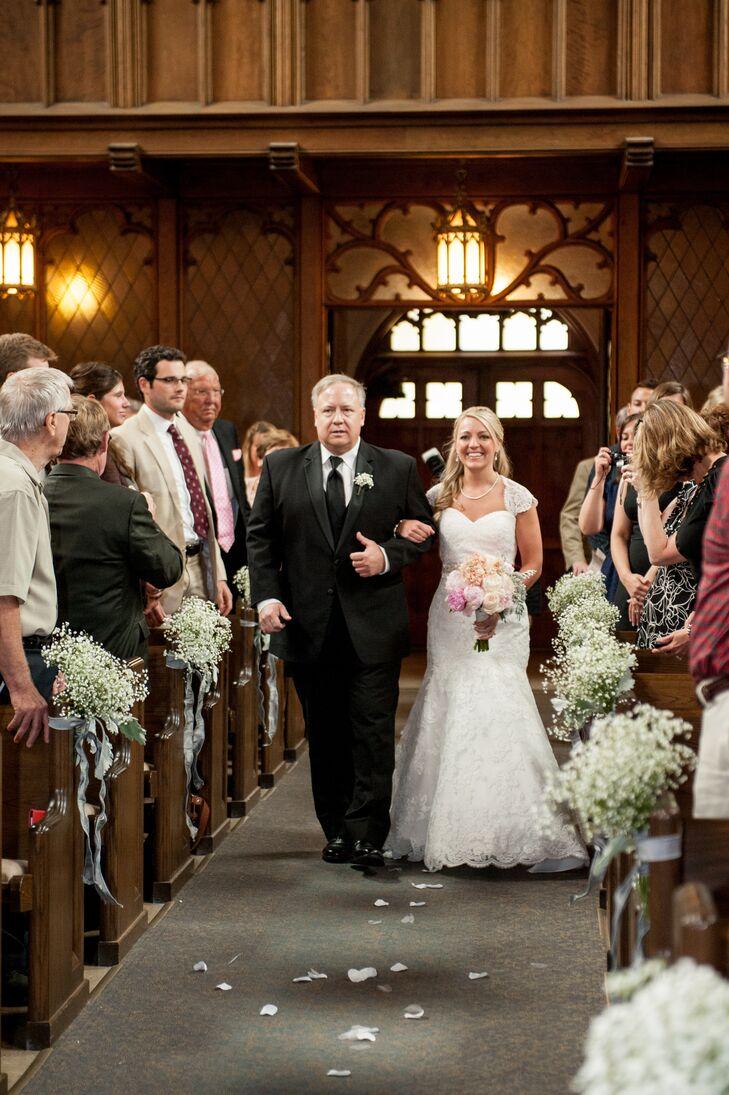 Wedding Processional at Plymouth Church