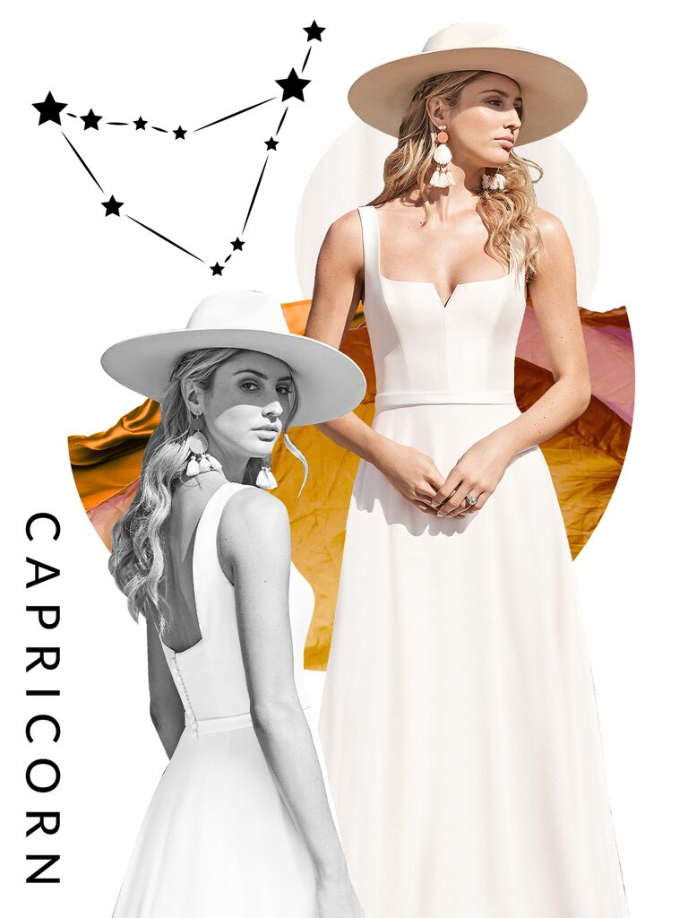 Capricorn wedding dress