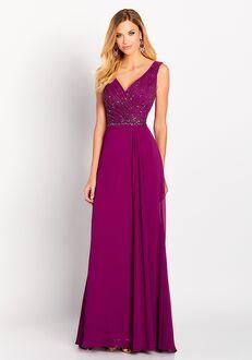 Cameron Blake 119641 Purple Mother Of The Bride Dress
