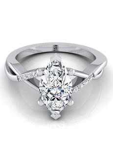 RockHer Unique Marquise Cut Engagement Ring