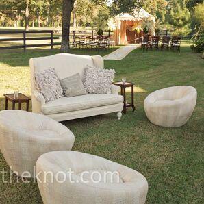 Outdoor Wedding Lounge Area