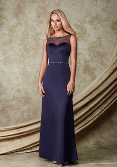 1 Wedding by Mary's Modern Maids M1500 Bateau Bridesmaid Dress