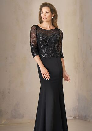 Jade Couture Mother of the Bride by Jasmine K208005 Black Mother Of The Bride Dress
