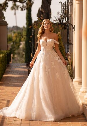 Moonlight Collection J6795 A-Line Wedding Dress