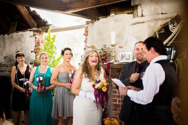 94th Aero Squadron Restaurant Wedding Ceremony