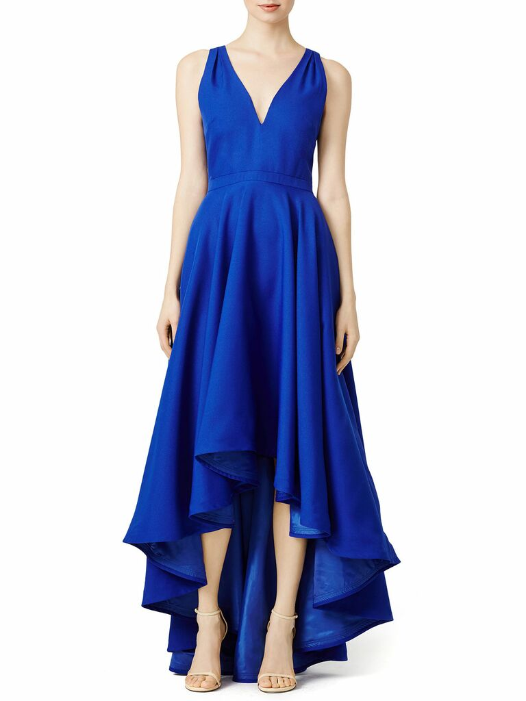 cobalt Marilyn gown