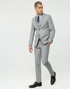 LE CHÂTEAU Wedding Boutique Tuxedos MENSWEAR_362230_009 Gray Tuxedo