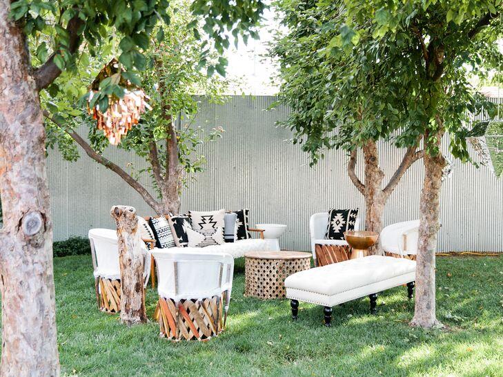 Bohemian Woven Lounge Furniture