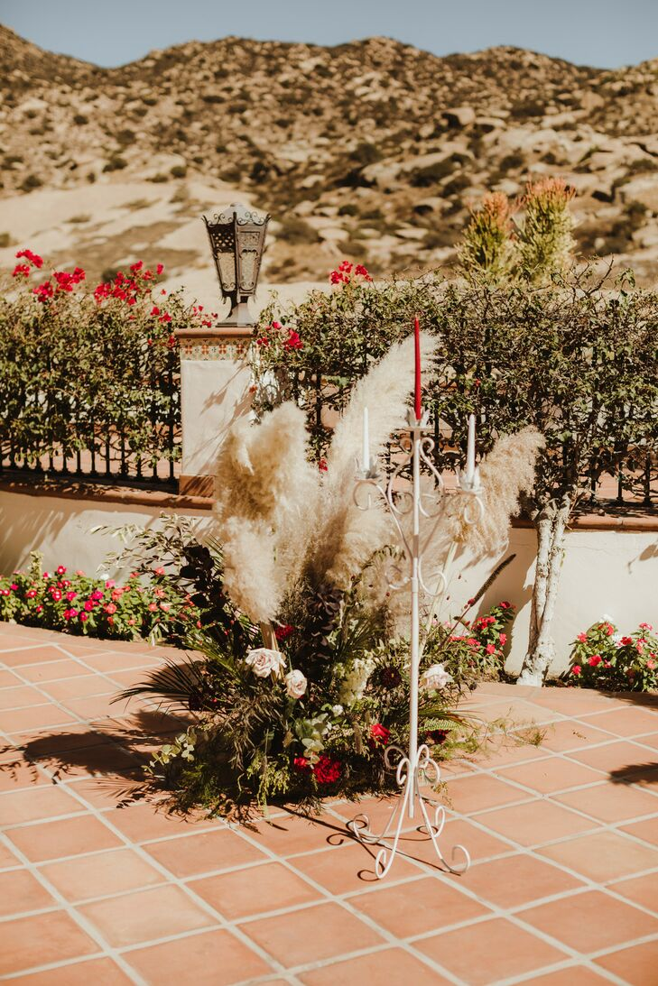 Rustic Desert Pampas Grass Arrangement
