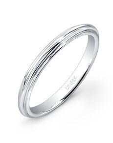 Uneek Fine Jewelry UWBS019 White Gold Wedding Ring