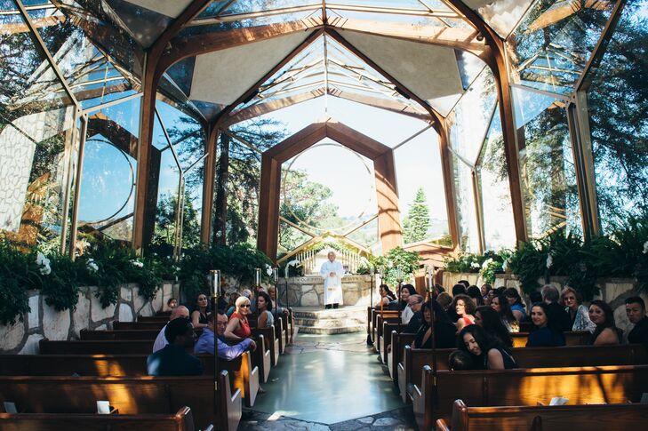 Wayfarers Chapel Wedding.A Coastal Classic Wedding At Wayfarers Chapel In Rancho Palos