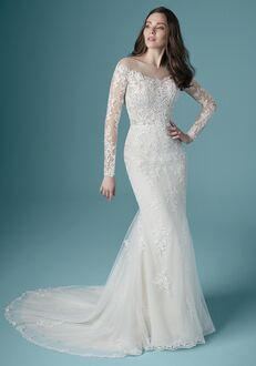 Maggie Sottero CHEVELLE Sheath Wedding Dress