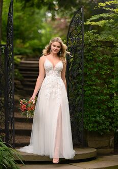 Essense of Australia D2840 A-Line Wedding Dress