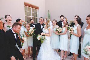Pale Pastel Blue Bridesmaid Dresses