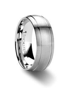 Mens Tungsten Wedding Bands W277-DBDG Tungsten Wedding Ring