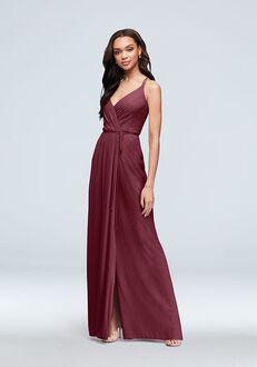 David's Bridal Collection David's Bridal Style F19755 V-Neck Bridesmaid Dress