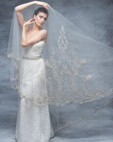 Blossom Veils & Accessories BV1517 Ivory Veil