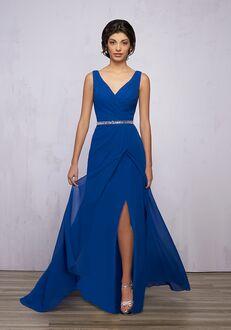 1 Wedding by Mary's Modern Maids M1851 V-Neck Bridesmaid Dress