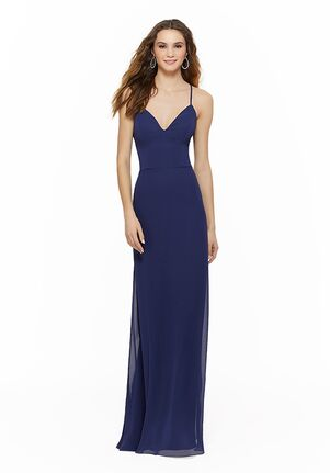 Morilee by Madeline Gardner Bridesmaids 21634 V-Neck Bridesmaid Dress