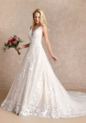 Adrianna Papell Platinum 31076L A-Line Wedding Dress