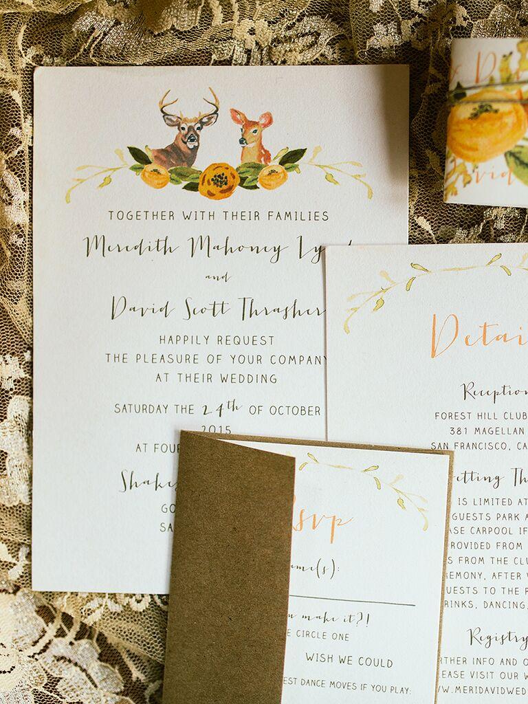 15 Rustic Wedding Invitation Ideas