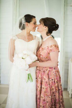 Elegant A-Line Maggie Sottero Wedding Dress