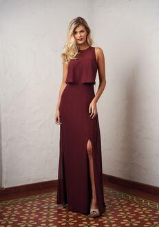 JASMINE P216058 Halter Bridesmaid Dress