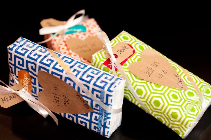 DIY Personalized Ceremony Tissues