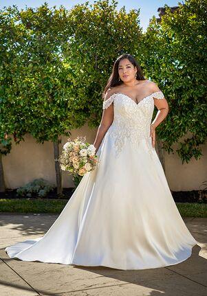 Jasmine Bridal F221069N A-Line Wedding Dress