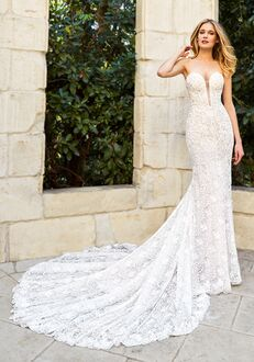 Moonlight Couture H1354 Mermaid Wedding Dress