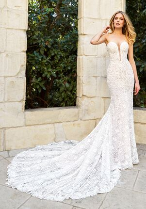 Moonlight Couture H1354 Mermaid Wedding Dress