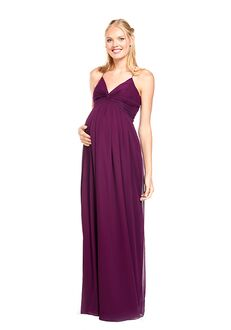 Khloe Jaymes DYLAN-M V-Neck Bridesmaid Dress