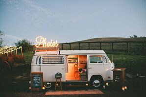 Vintage Photo Booth Bus